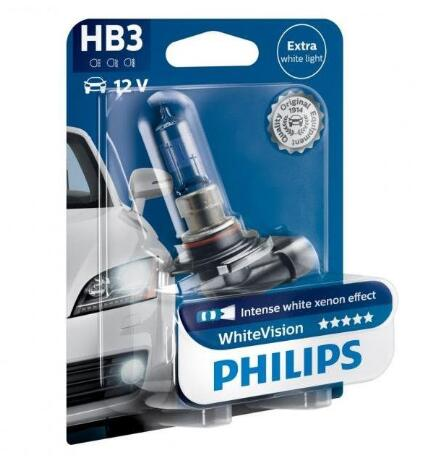 Philips WhiteVision Headlight Bulbs 9005
